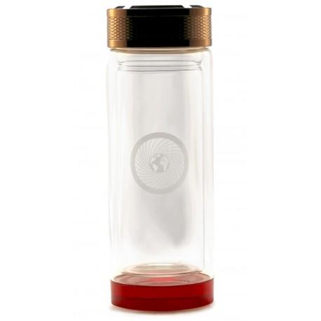 Energie-Thermo-Flasche aus Glas