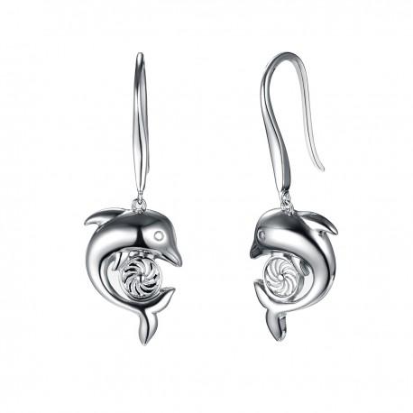 Energie-Schutz-Ohrringe in 925 Silber