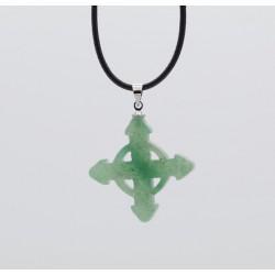 Schutzkreuz 30mm aus Jade