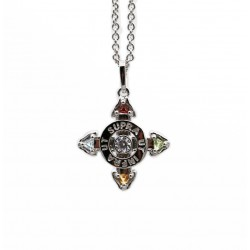 Schutzkreuz Silber 925 18 mm