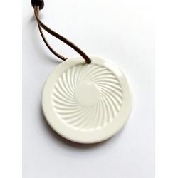 Kraft-Amulett 43mm aus Keramik