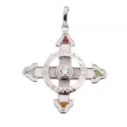Schutzkreuz Silber 925 30mm