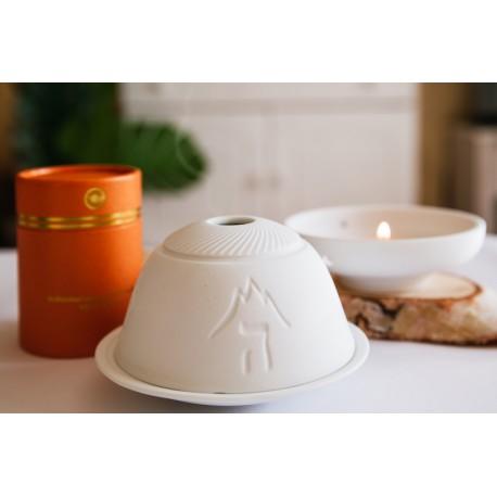Teelichthalter 5 Elemente Keramik