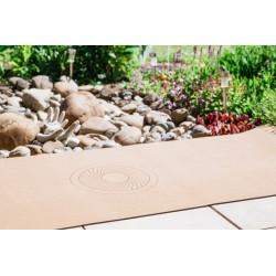 Kork Yogamatte mit Energiekreis