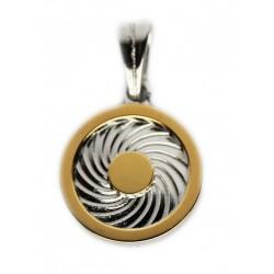 Energie-Schutz-Kreis 12mm Silber 925
