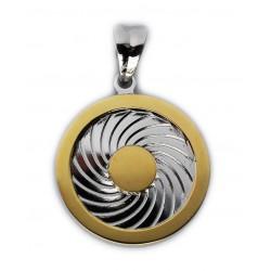 Energie-Schutz-Kreis 18mm Silber 925