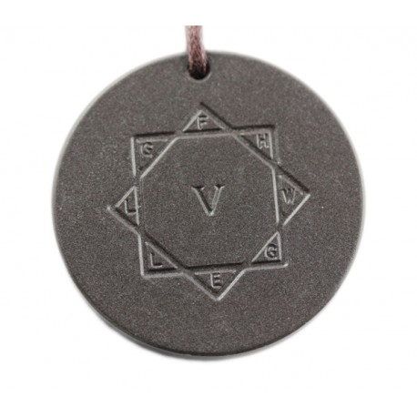 Kraft-Amulett Lava