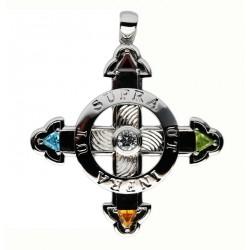 Schutzkreuz Silber 925 in 70 mm