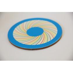 Tassenuntersetzer zum energetisieren SET in 7 Farben