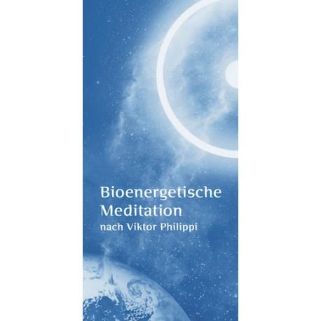 "Faltflyer ""Biomeditation"", Format DIN lang"