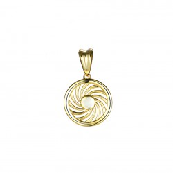 Energie-Schutz-Kreis 18mm Silber 925 Lücke