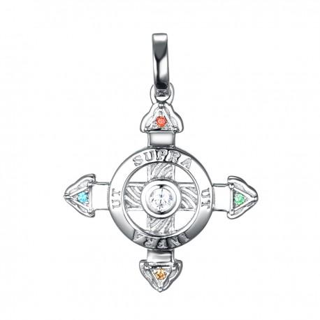 Schutzkreuz Silber 925 18 mm NEU