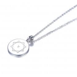 Kraft-Amulett 18mm in Silber 925